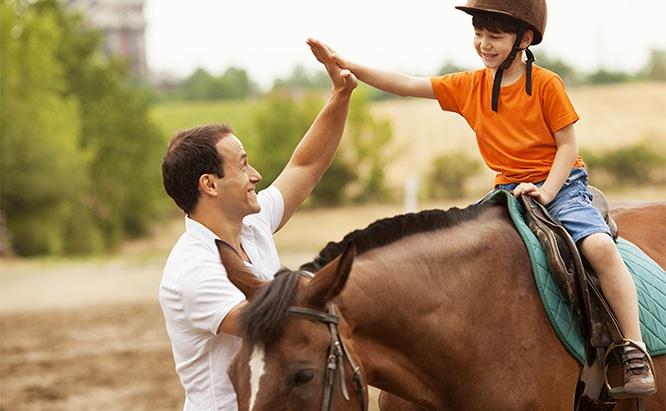 רכיבה טיפולית – לחזק את האיזון הפנימי
